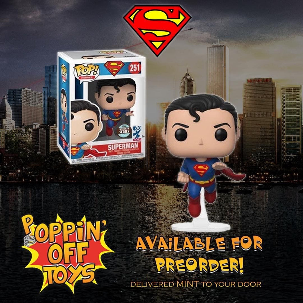 Pop! DC Heroes - Superman (80th Anniv)