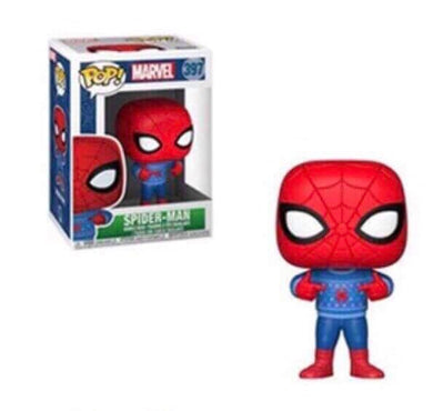 Pop! Marvel: Holiday - Spiderman in Sweater