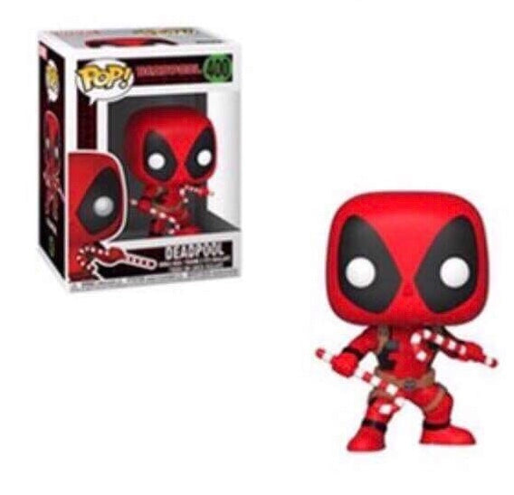 Pop! Marvel: Holiday - Deadpool with Candy Canes