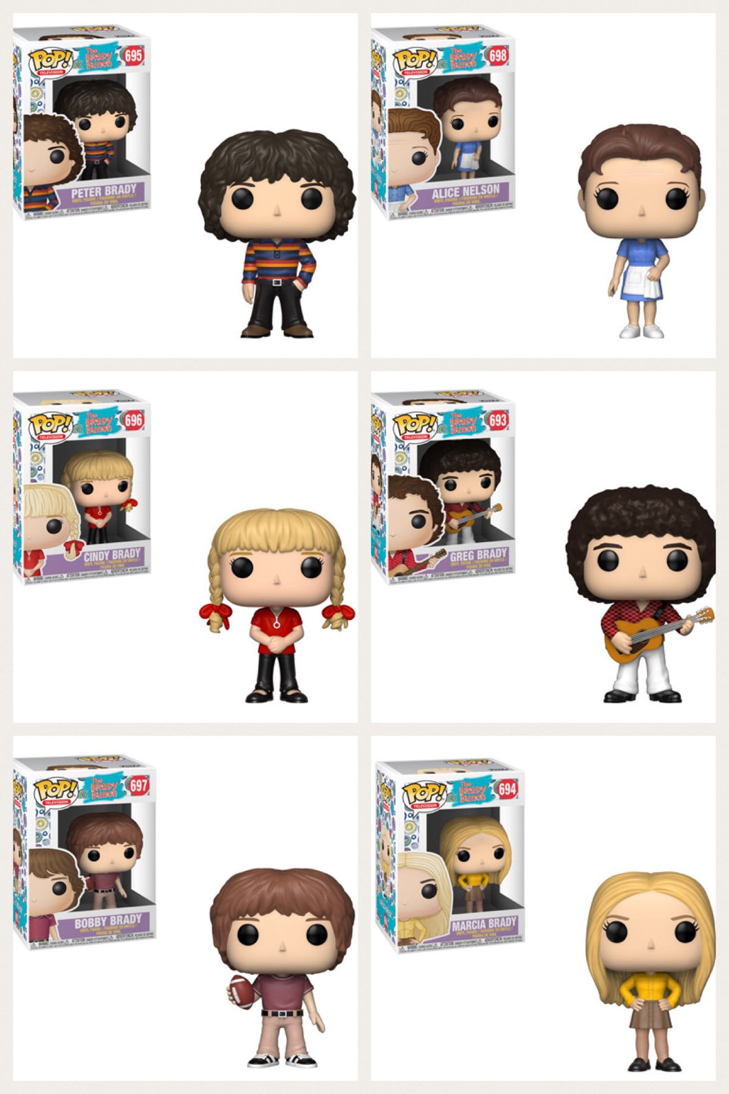 Pop! Television: Brady Bunch - Bundle