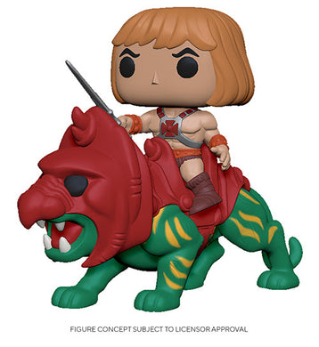 Pop! Ride: Animation: MOTU - He-man on Battle Cat