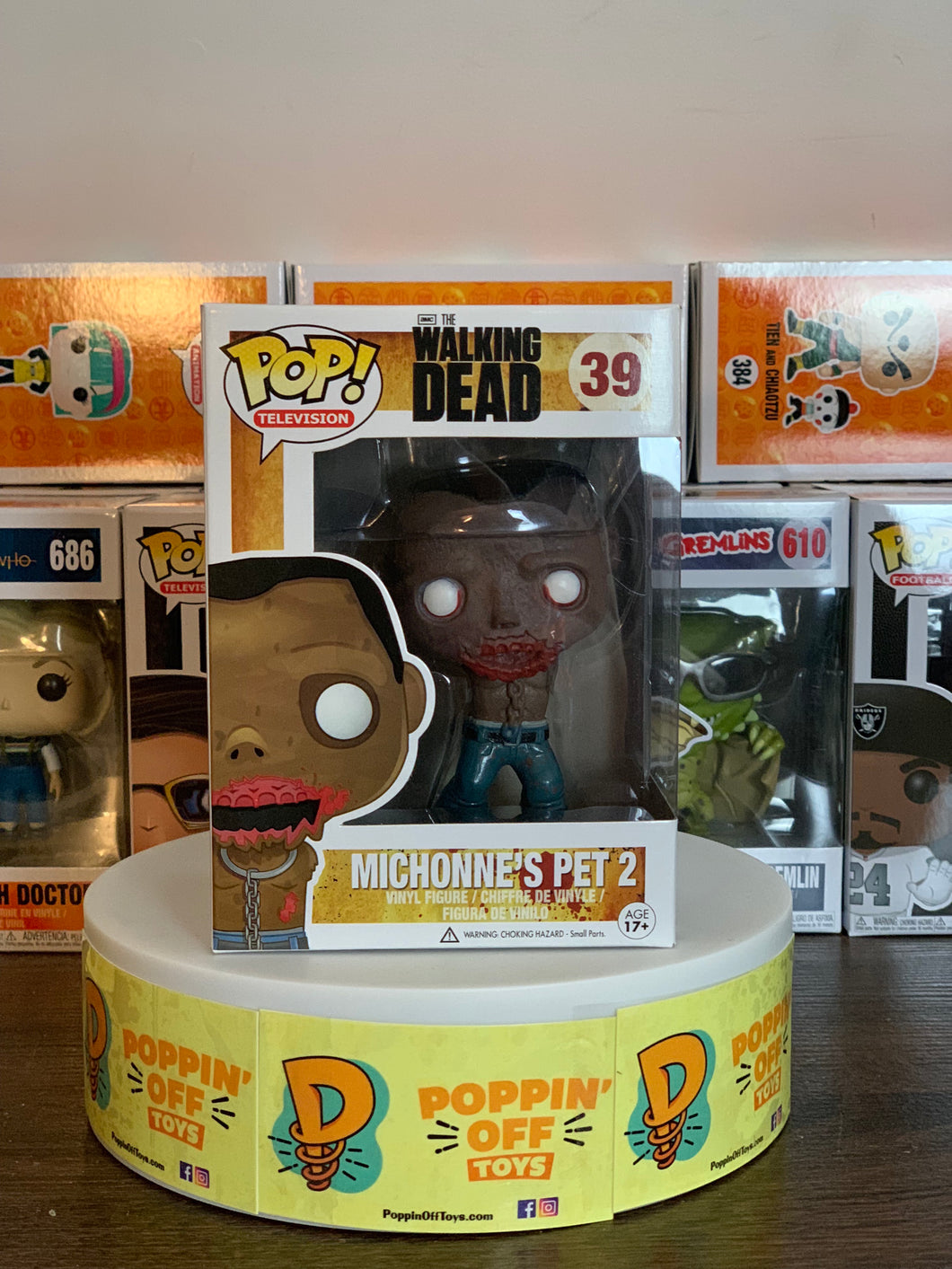 Pop! Television: The Walking Dead - Michonne's Pets 2 (8/10)