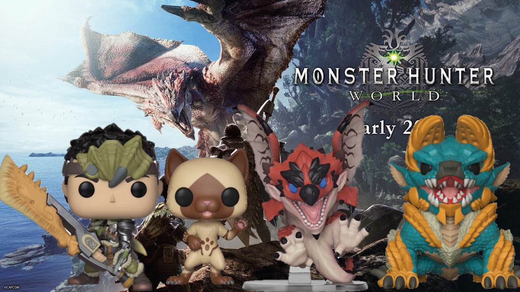 Pop! Games: Monster Hunter - BUNDLE!