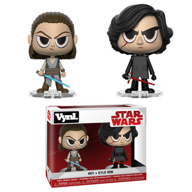 Vynl: Star Wars - Rey and Kylo Ren