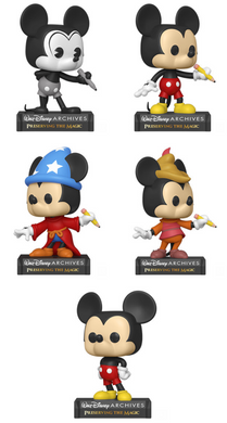 Pop! Disney: Archives Mickey Mouse