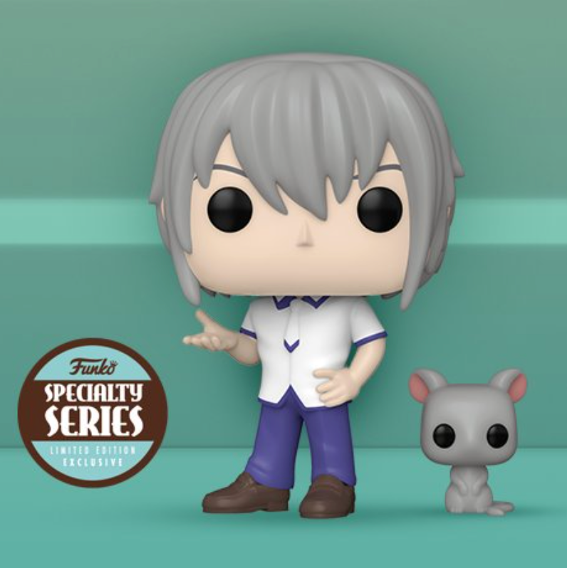 Pop! Animation: Fruits Basket - Yuki Sohma w/Rat