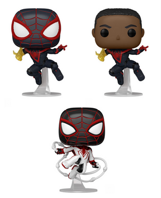 Pop! Games: Spider-Man Miles Morales - CHANCE at Chase