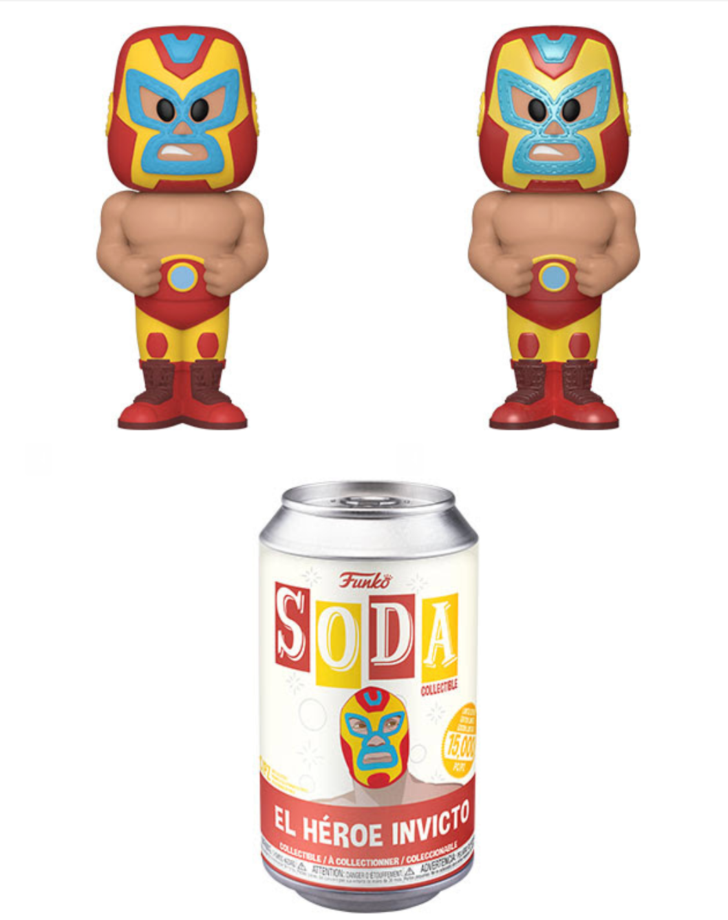 Pop! Soda: Wave 9 - Luchadore Iron Man