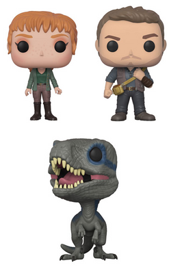 Pop! Movies: Jurassic World: Fallen Kingdom - BUNDLE