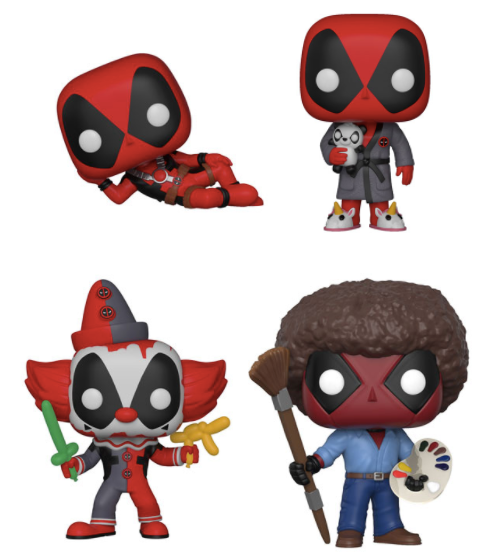 Pop! Marvel: Deadpool Parody Bundle
