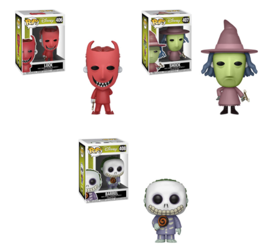 Pop! Disney: Nightmare Before Christmas - BUNDLE!
