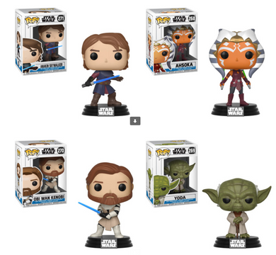 Pop! Star Wars: The Clone Wars - Bundle