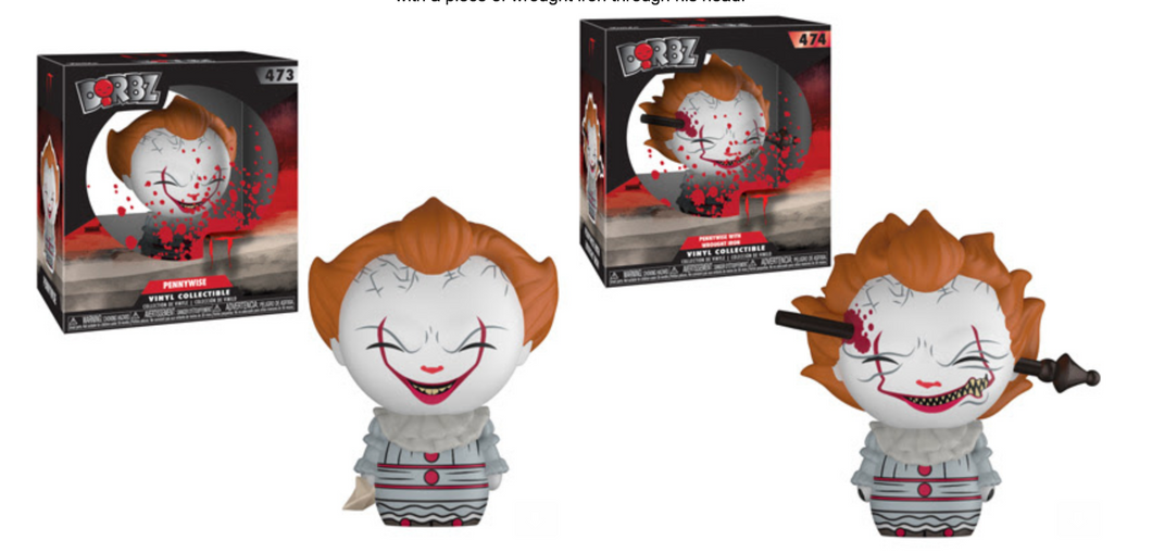 Dorbz: Horror: IT - Pennywise Bundle