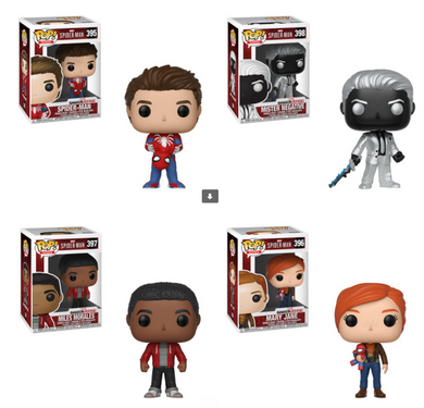 Pop! Games: Marvel - Spider-Man - Bundle