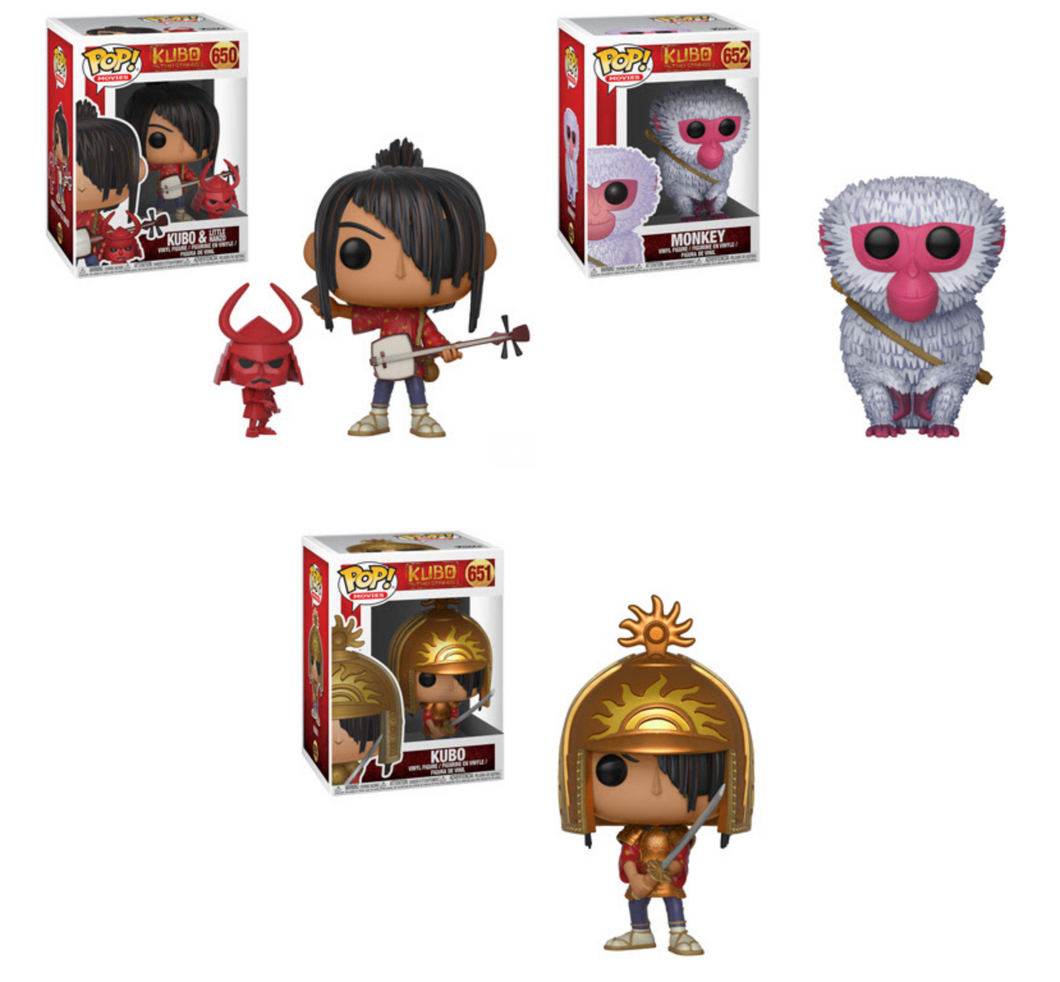 Pop! Movies: Kubo - Bundle