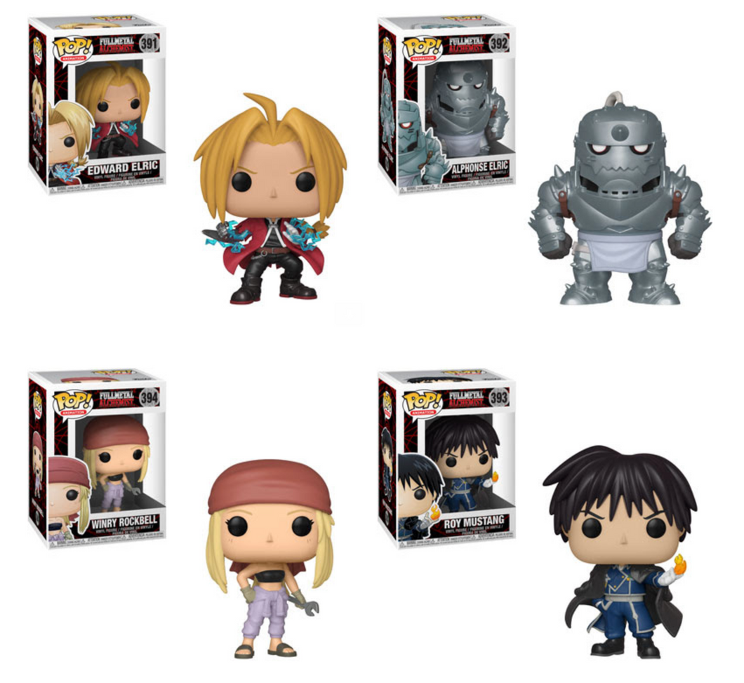 Pop! Animation: Fullmetal Alchemist