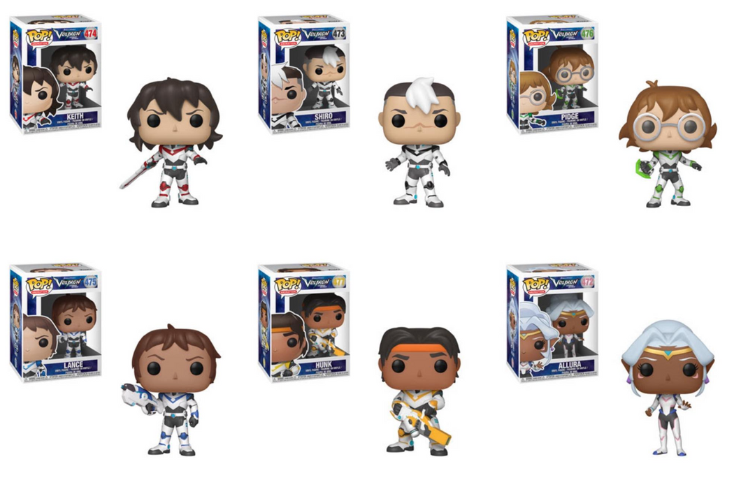 Pop! Animation: Voltron - Bundle