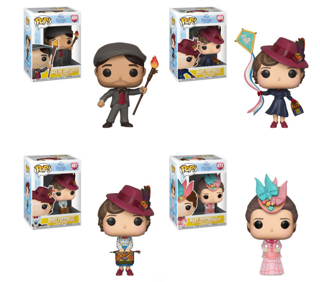 Pop! Disney: Mary Poppins Returns - BUNDLE