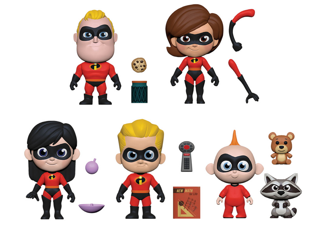 5 Star Disney: Incredibles - Bundle
