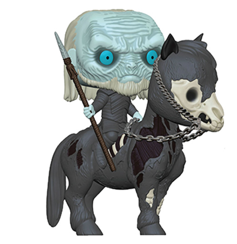 Pop Ride: Game of Thrones - White Walker on Horse