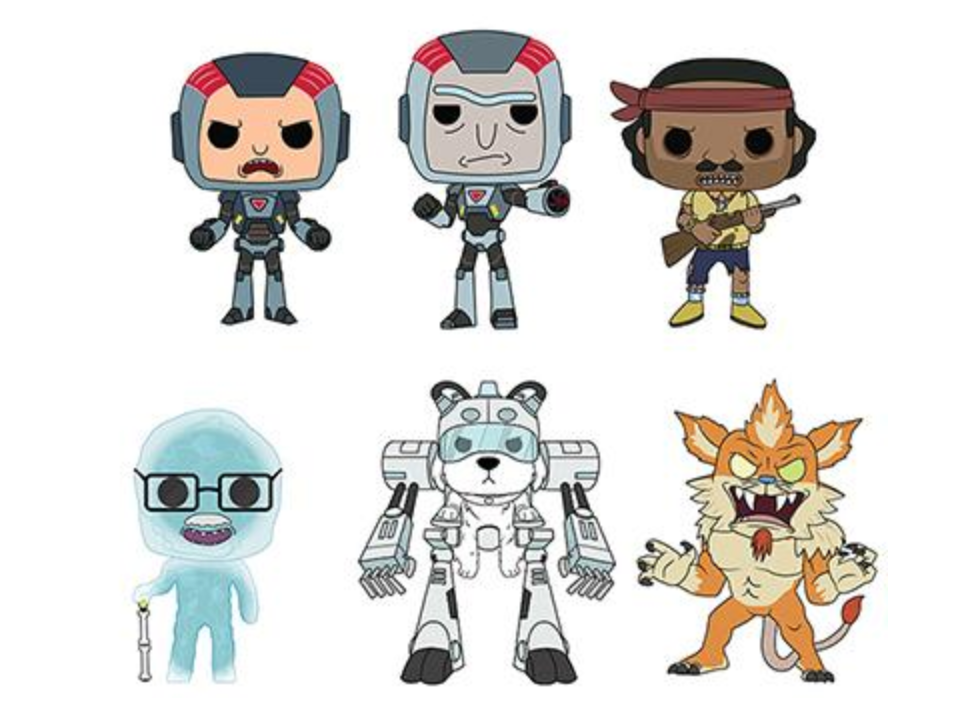 Pop! Animation: Rick and Morty ToyFair - Bundle