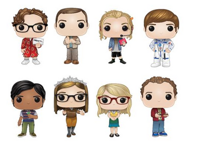 Pop! Television: Big Bang Theory - Singles