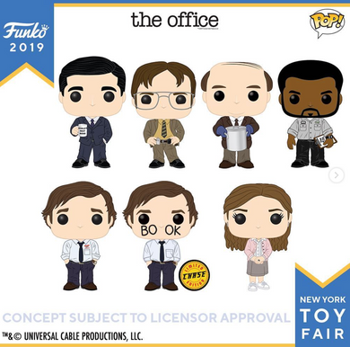 Pop! Television: The Office SINGLES