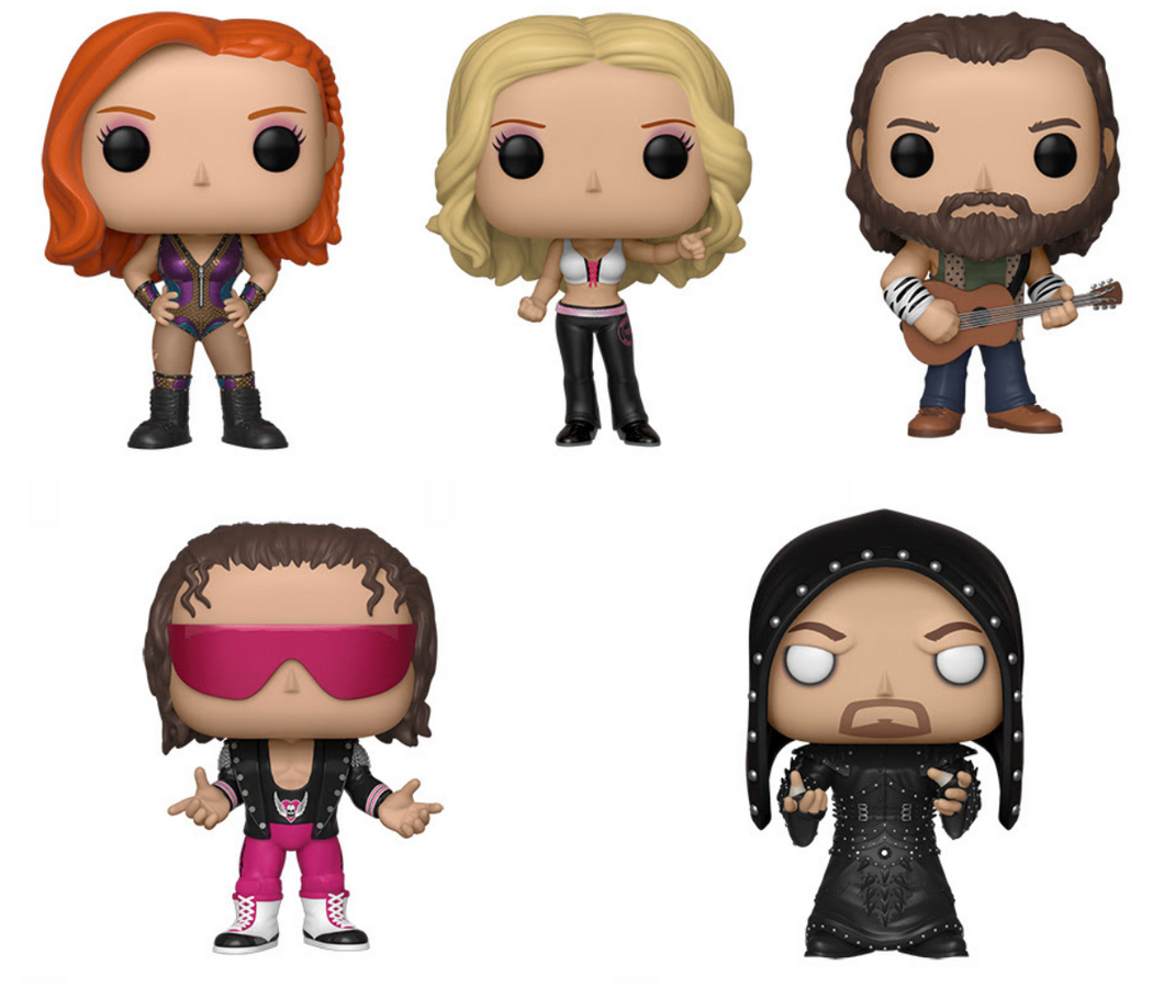 Funko Pop! WWE Spring 19 - BUNDLE