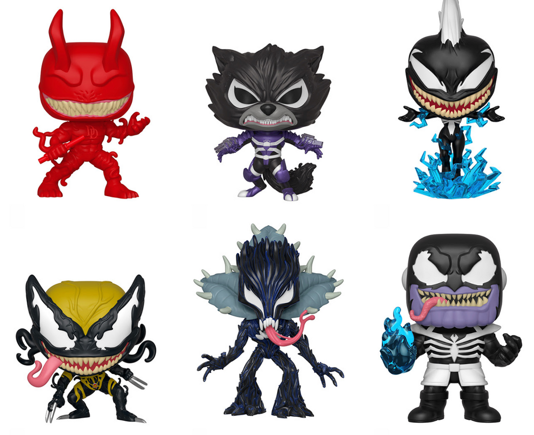 Funko Pop! Marvel: Venomized Bundle