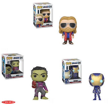 Pop! Marvel: EndGame Wave 2 - BUNDLE