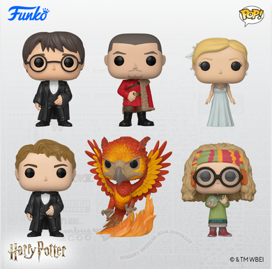 Funko Pop! Harry Potter (Goblet of Fire) - BUNDLE