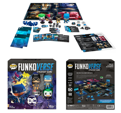 Pop! Funkoverse: Strategy Game - DC 100 (Base Game)