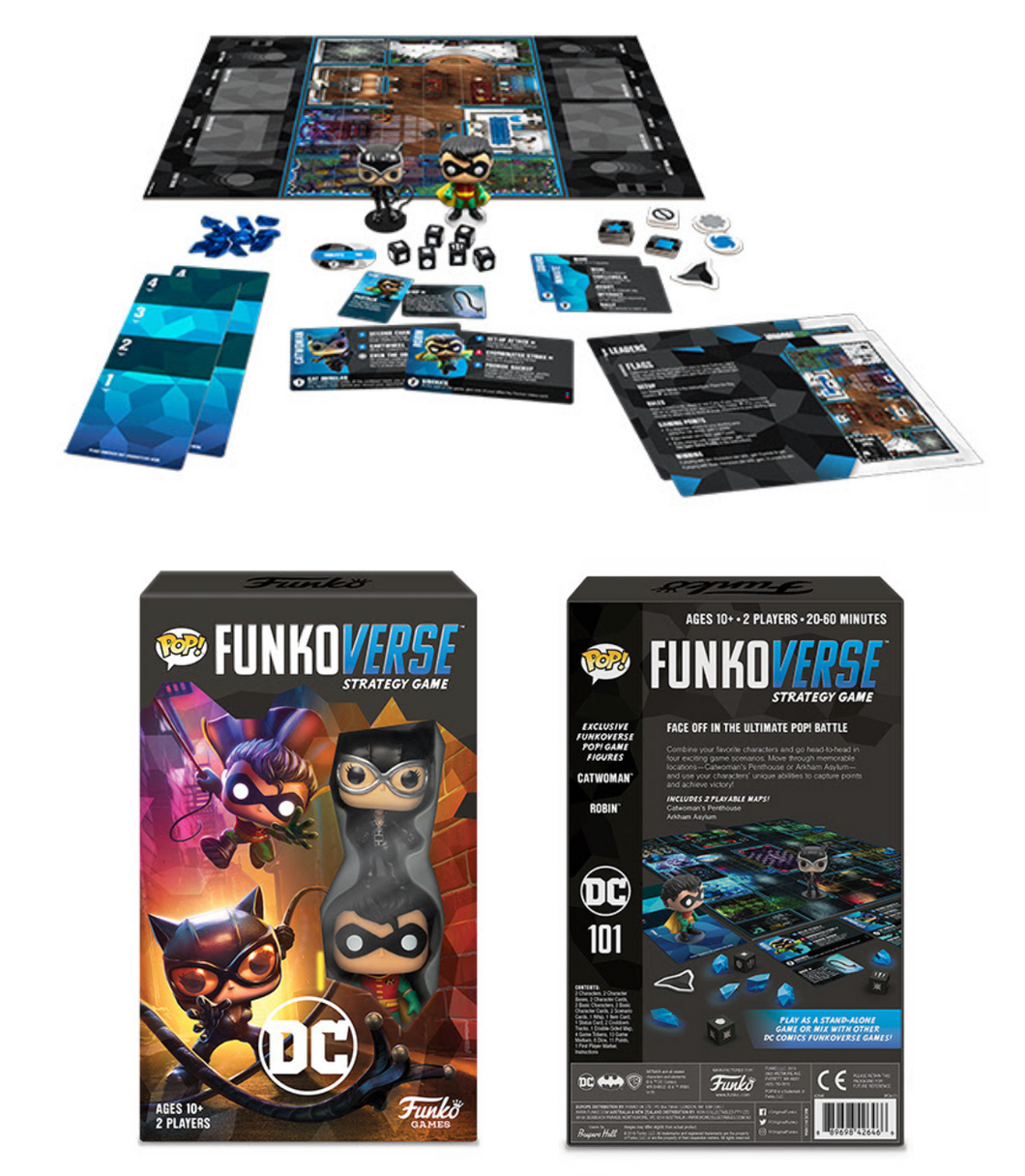 Funkoverse: Strategy Game - DC 101 (Expansion Game)