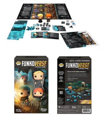 Funkoverse: Strategy Game - Harry Potter 101 (Expansion Game)