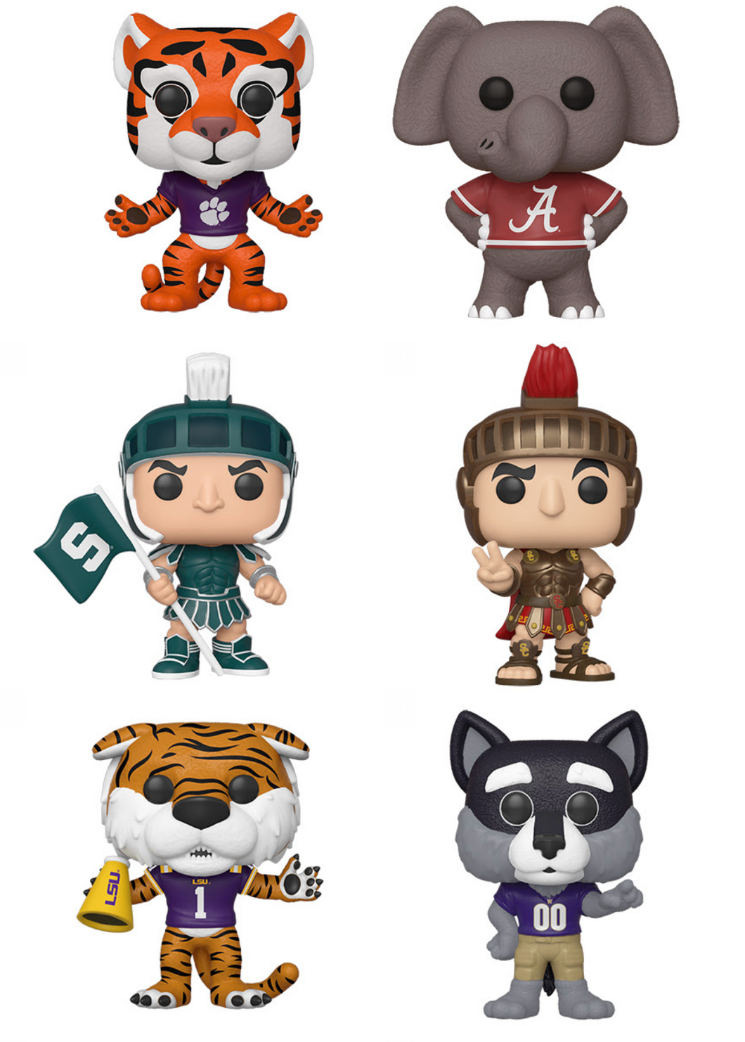 Pop! College Mascots - BUNDLE