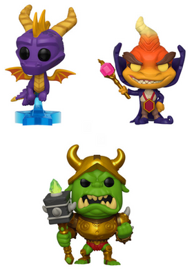Pop! Games: Spyro - Bundle