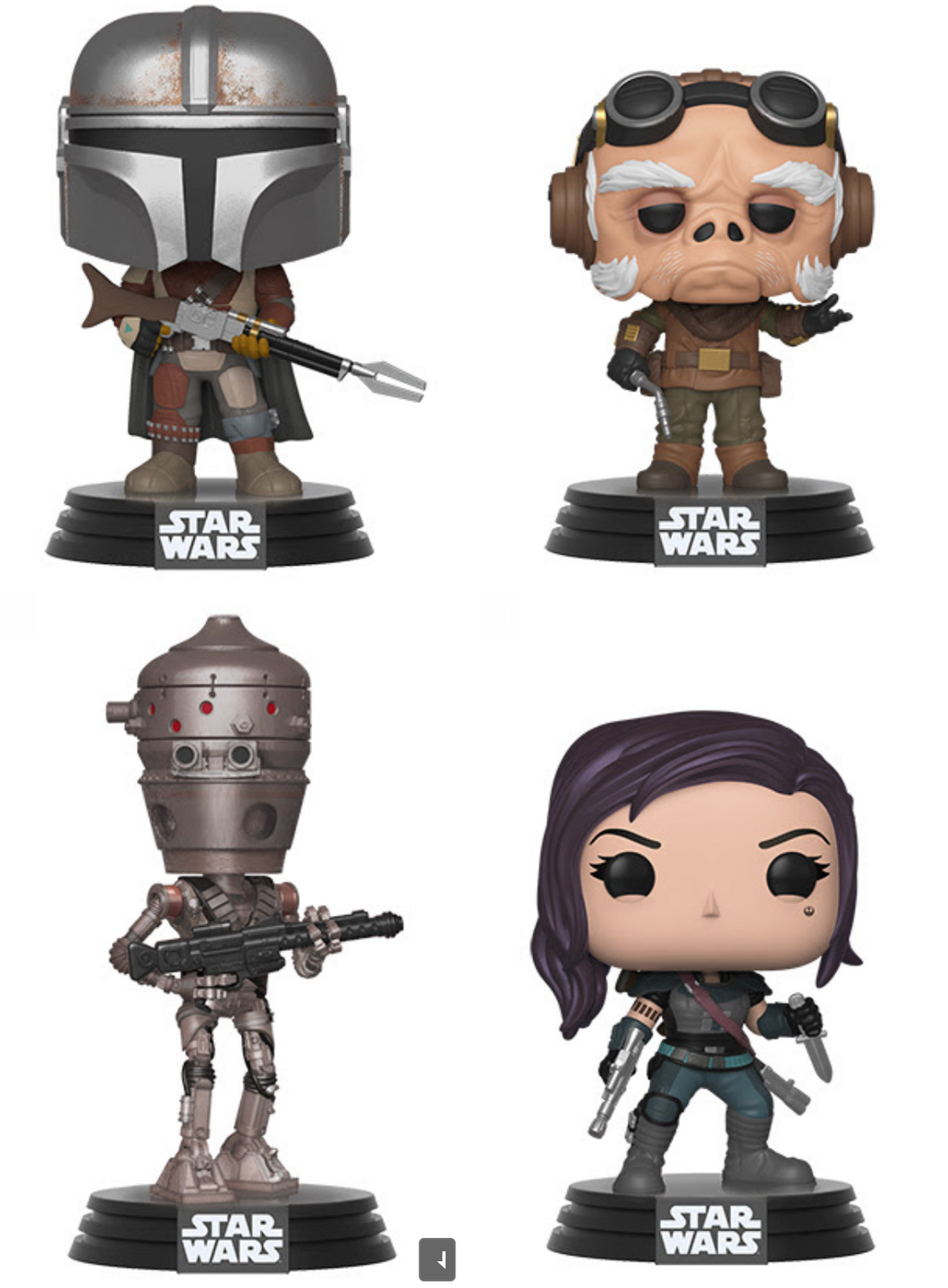 Pop! Star Wars: The Mandalorian - Bundle
