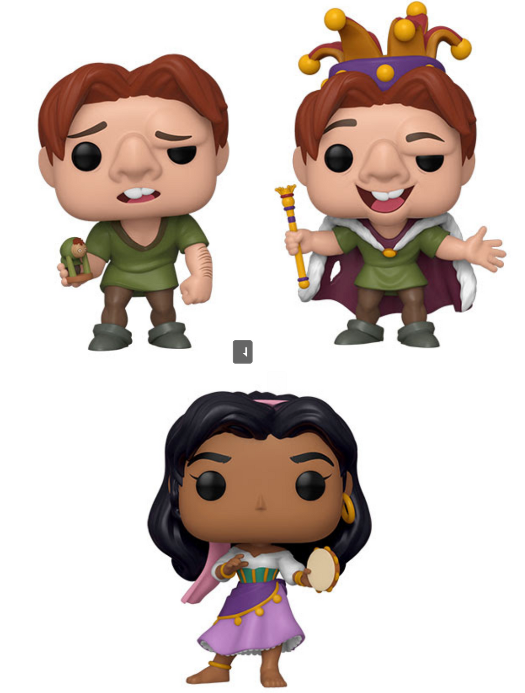 Pop! Disney: Hunchback of Notre Dame - Bundle