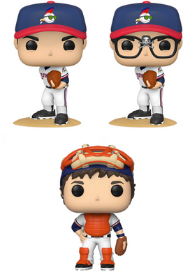 Pop! Movies: Major League - Bundle w/Chase