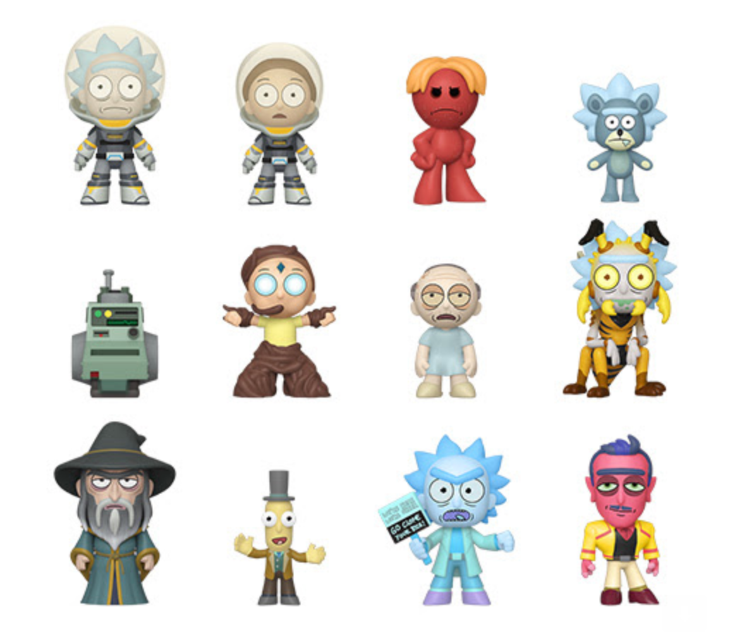 Pop Minis: Rick and Morty S4