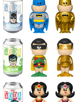Vynl Soda: DC Comics