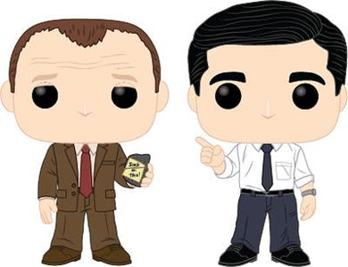 Pop! Television: The Office - Toby vs. Michael 2pack
