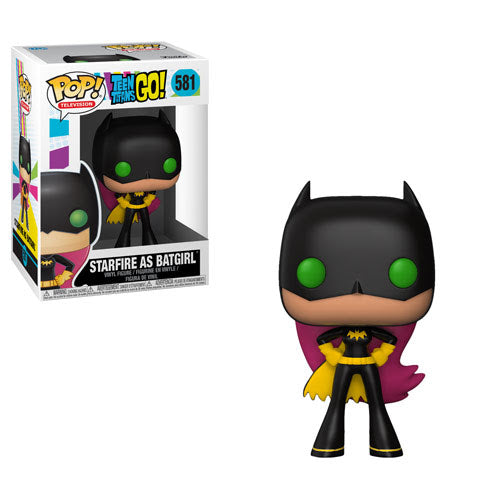 Pop! Television: Teen Titans Go! - Starfire as Batgirl