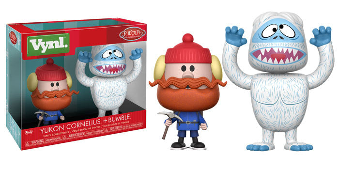 Vynl: Rudolph - YUKON CORNELIUS and BUMBLE