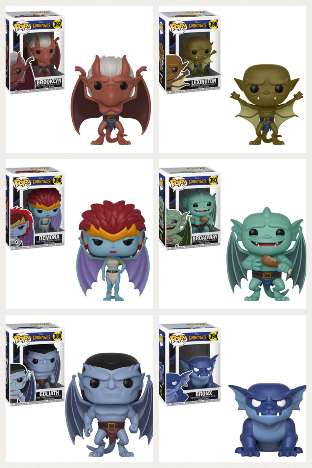 Pop! Disney: Gargoyle's - Bundle