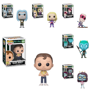 Pop! Animation: Rick & Morty - Bundle