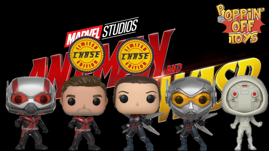 Pop! Ant-Man and the Wasp - Bundle w/Chases