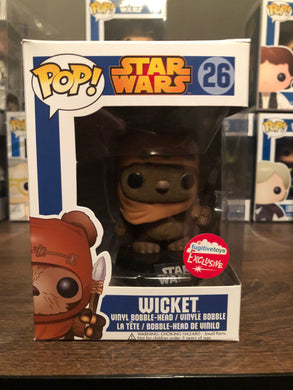 Pop! Star Wars: Wicket (Flocked) (8.5/10)