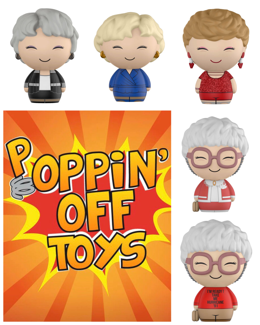 Dorbz: Golden Girls Bundle w/Chase
