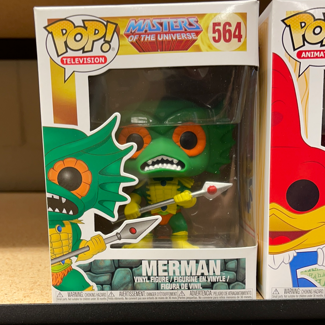 Pop! Animation: MOTU: Merman (In Stock) Vinyl Figure